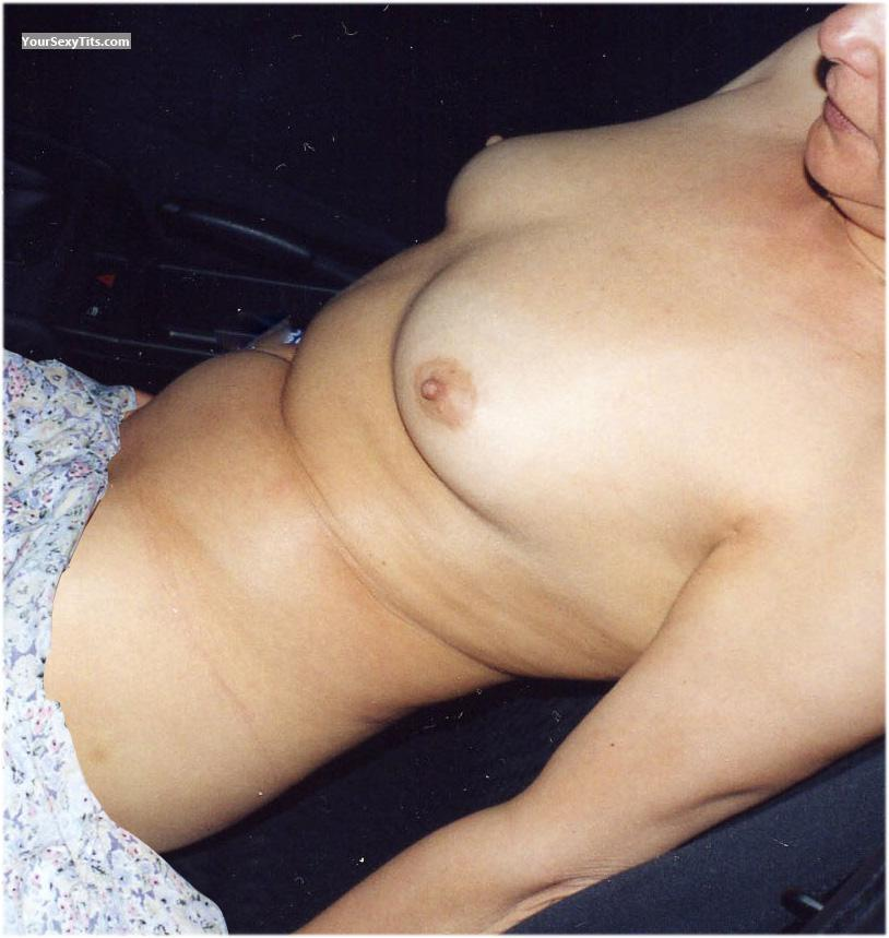 Tit Flash: Small Tits - Maria from Germany